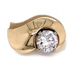 Domed Diamond Design